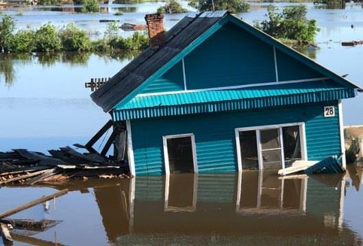 В России число погибших при наводнении достигло 20 человек